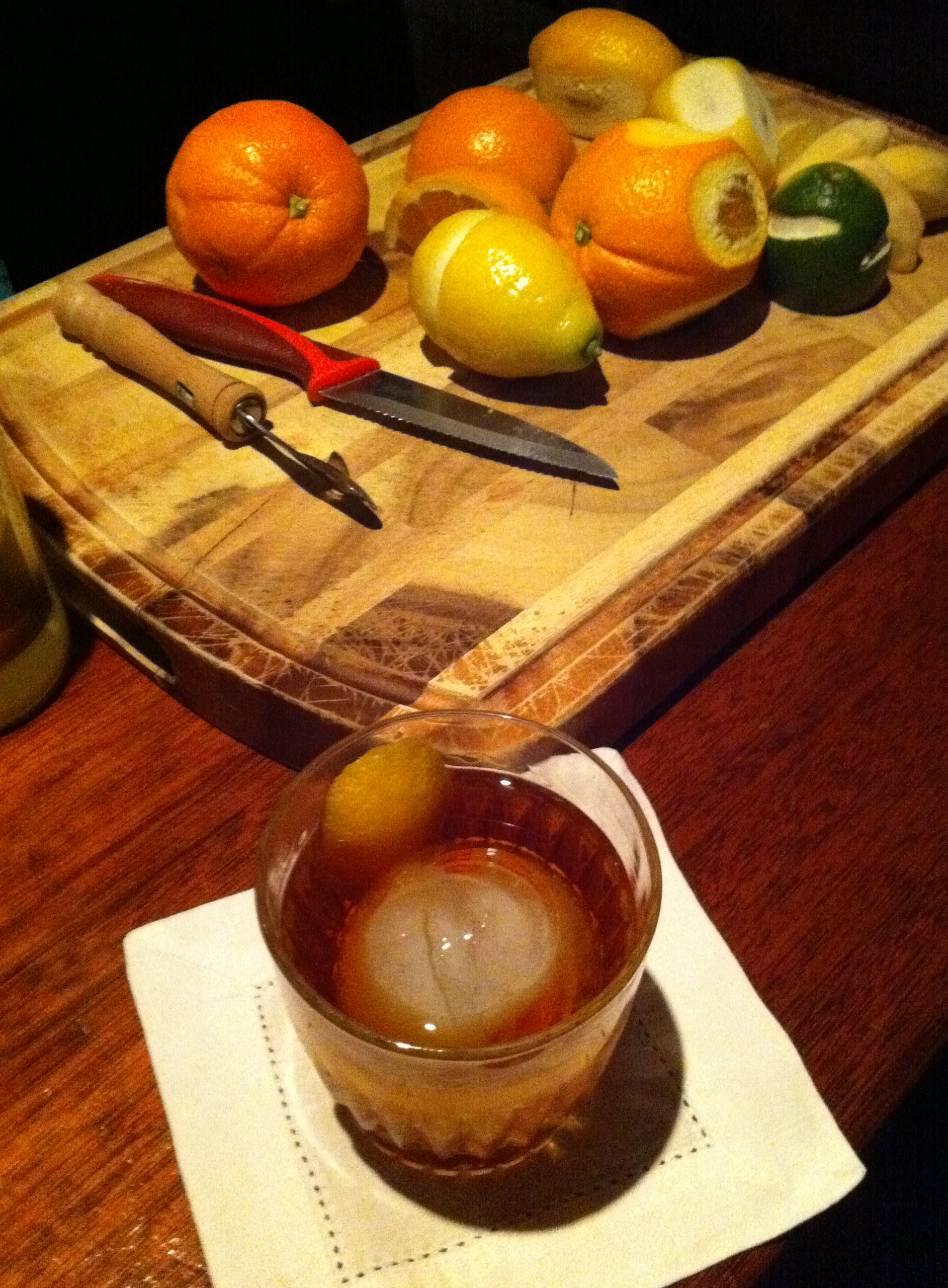 Fixings for a mean old fashioned