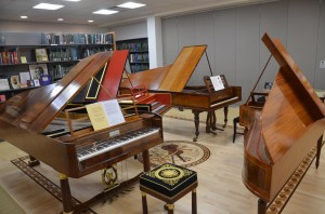 Fortepianos at Dr. Martin Luther King Jr. Library