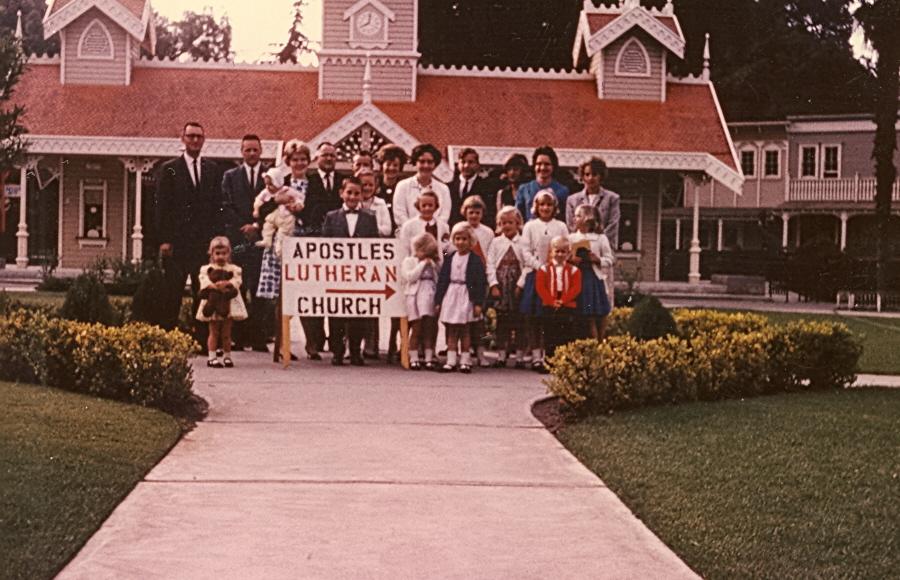 Congregation at Frontier village